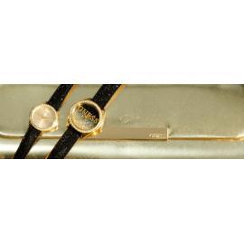 GUESS Women's U0026L1 Dazzling Sporty Silver& Gold-Tone Mid-Size Watch