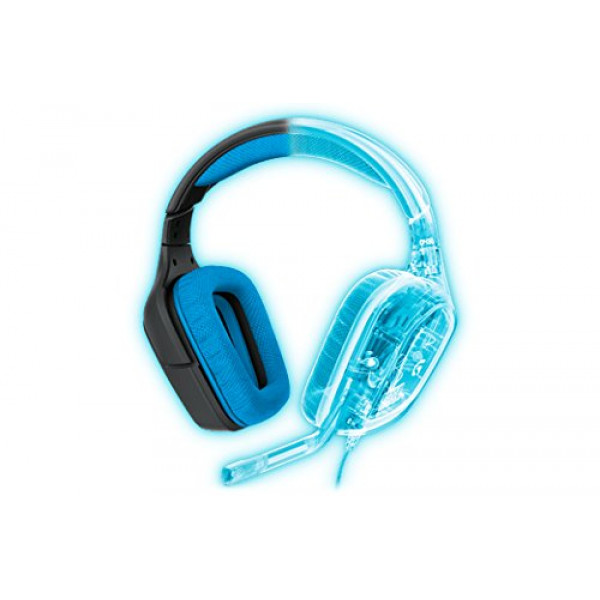 Logitech G430 7.1 DTS Headphone X and Dolby Surround Sound Gaming Headset for PC, Playstation 4 – On-Cable Controls – Sports-Performance Ear Pads – Rotating Ear Cups – Light Weight Design