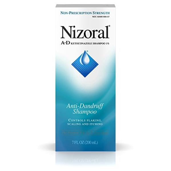 Nizoral A-D Anti-Dandruff Shampoo, 7 FL OZ -  Free Shipping